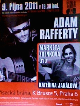 Adam Rafferty - Fingerstyle Guitar in Prague October 9, 2011