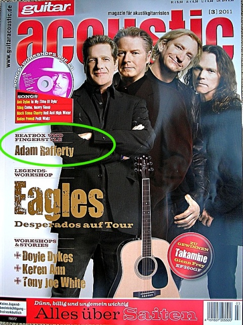 Guitar Acoustic Magazine March 2012 - Adam Rafferty Article