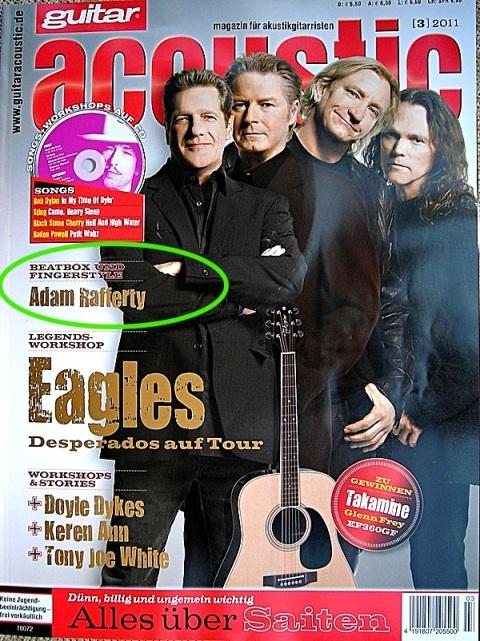 Guitar Acoustic Magazine March 2012 - Adam Rafferty Article